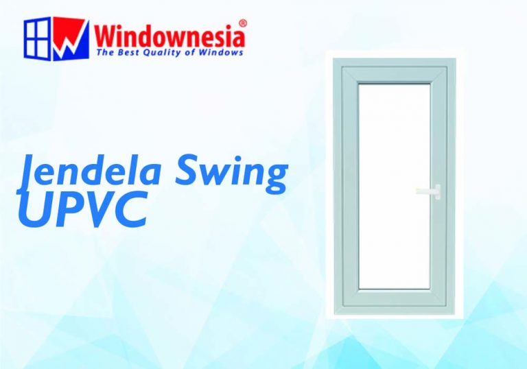 Jendela Swing UPVC