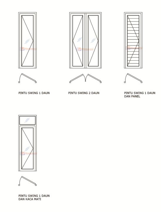 Model Pintu Swing