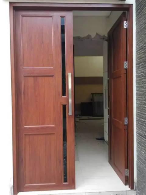 Pintu Aluminium Serat Kayu